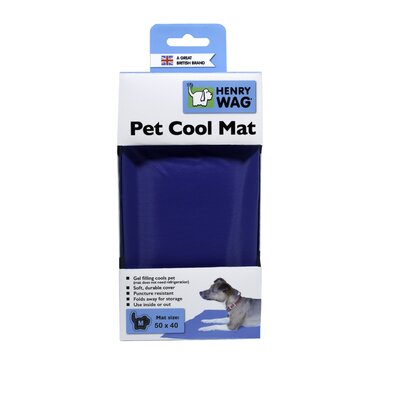 Henry Wag Gel Cool Mat in Blue