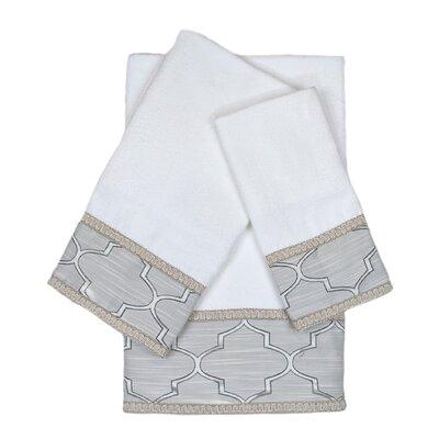 Stanton Gimp 3 Piece 100% Cotton Towel Set