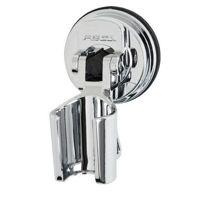 ABS Plastic Wall Mounted Showerhead Bracket Holder Color: Chrome