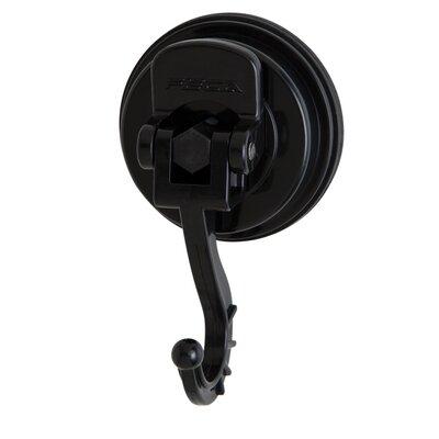 Medium Swivel Suction Hook (Set of 2) Color: Black