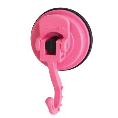 Medium Swivel Suction Hook (Set of 2) Color: Pink