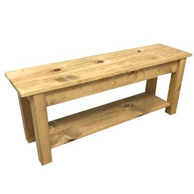 "Della Wood Bench Size: 30"""