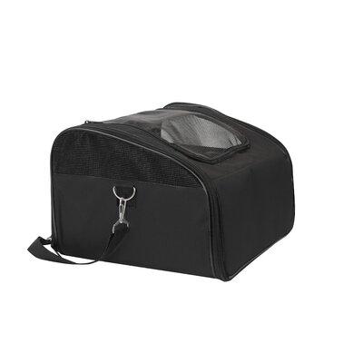 Laika Sidekick Travel Soft Sided Pet Carrier Color: Black