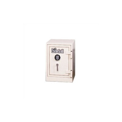 "23.25"" H x 19.75"" D U.L. Two-Hour Fire Resistant Record Safe Lock Type: Group II Combination Lock With Key Locking Dial, Color: Black With Silver Trim"