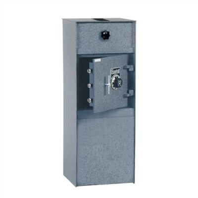 Rotary Chamber Commercial Depository Safe 2.52 CuFt Lock Type: Group II Combination Lock, Door Placement: Top