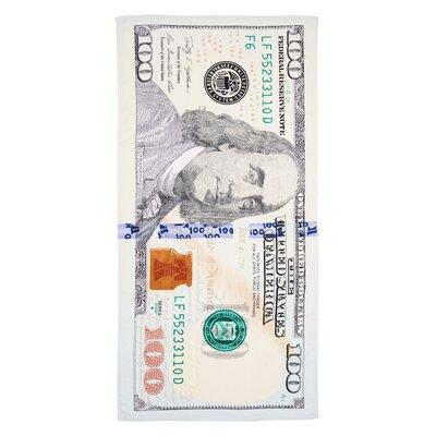 New $100 Bill 100% Cotton Beach Towel