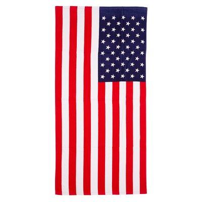 Dugad American Flag 100% Cotton Beach Towel