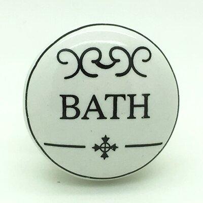 G Decor Bath Door Knob