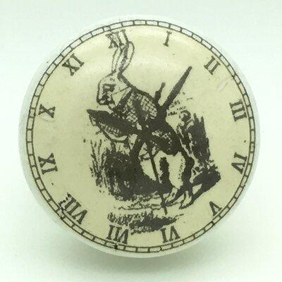 G Decor Rabbit Clock Door Knob