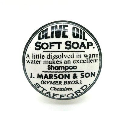 G Decor Olive Oil Soft Clocks Door Knob