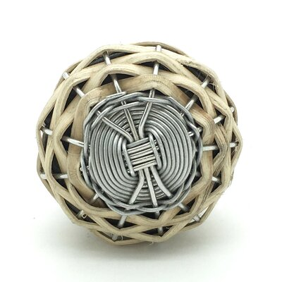 G Decor Wood Willow Door Knob