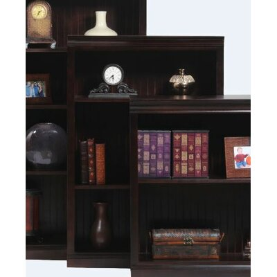 Poplar Standard Bookcase Finish: Chocolate Mousse