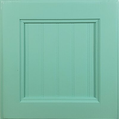 Console Table Color: Aquamarine
