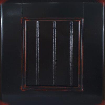 Console Table Color: European Burnt Black