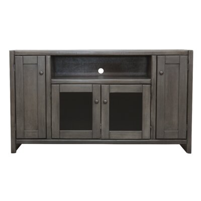 "Richland Poplar 55"" TV Stand Color: Burnt Red"