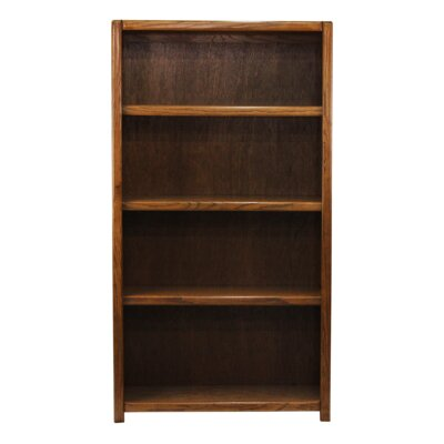 Conner Standard Bookcase Finish: Brown