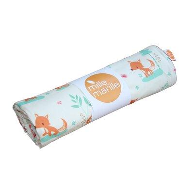 MilleMarille Kuscheldecke Sweet Foxes