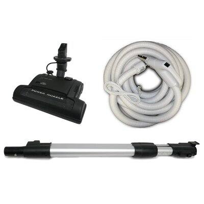 Electric Carpet Beater Brush and Crushproof Hose Kit