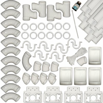 Complete 4 Wall Inlet Installation Kit