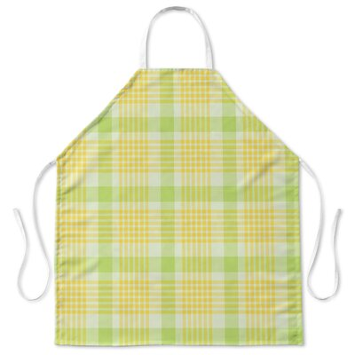 Floral Plaid Cooking Apron
