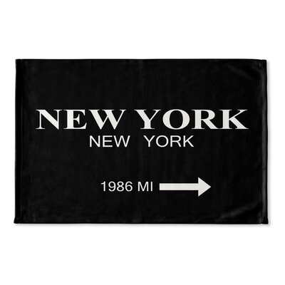 Alling New York Flat Weave Bath Rug