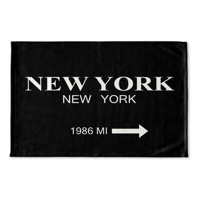 Alling New York Flat Weave Bath Rug