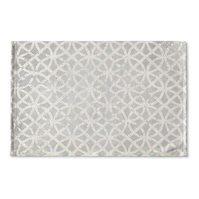 Vasques Flat Weave Bath Rug Color: Light Grey