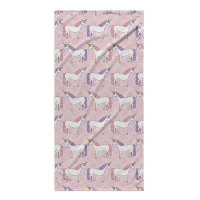 Pink/Purple Beach Towel