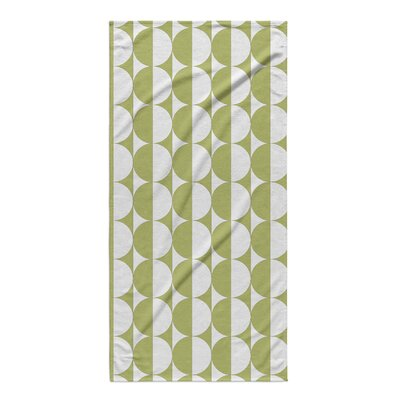 Rectangle Green Beach Towel