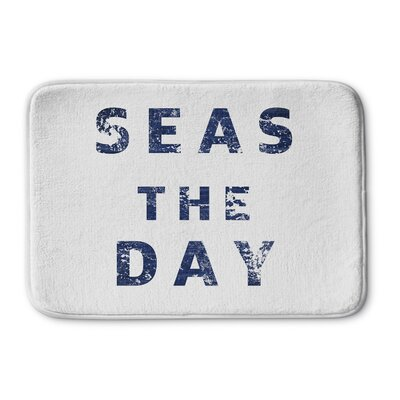 "Barbra Seas The Day Memory Foam Bath Mat Size: 24"" W x 36"" L"
