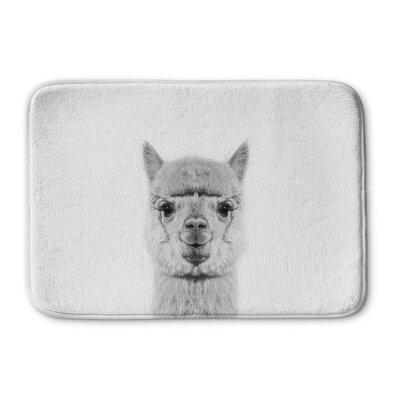 "Truluck Alpaca Memory Foam Bath Rug Size: 24"" W x 36"" L"