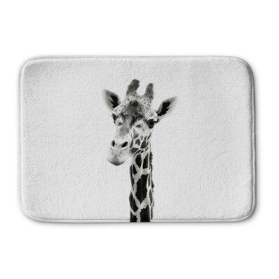 "Truss Giraffe Memory Foam Bath Rug Size: 24"" W x 36"" L"