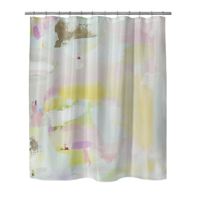 """Whitmore Shower Curtain Size: 70"""" H x 72"""" W"""