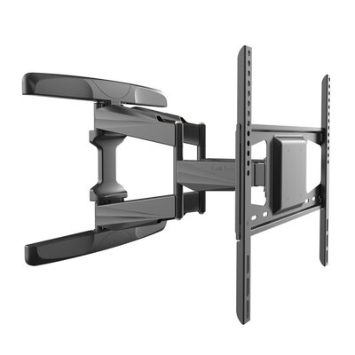 Full Motion Double Articulating Wall Mount for 26'' - 55'' LCD/LED/Plasma Screens