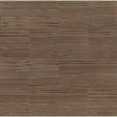 """Rowe 12"""" x 24"""" Porcelain Field Tile in Wenge Lappato Semi-Polished"""