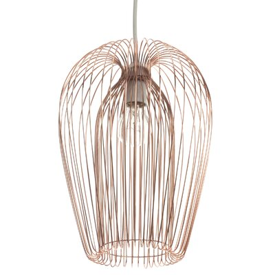 First Choice Lighting 22cm Copper Wire Lamp Shade