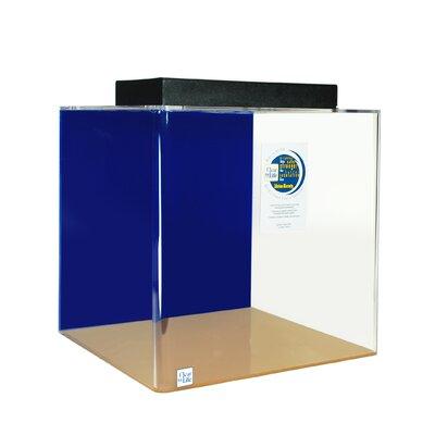 """Mullen Cube Acrylic Aquarium Tank Color: Sapphire Blue, Size: 24"""" H x 24"""" W x 24"""" D"""