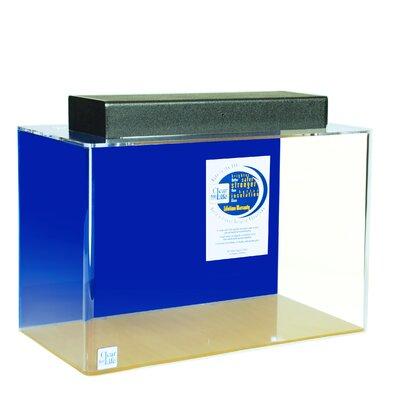 "Mulligan Rectangle Acrylic Aquarium Tank Color: Sapphire Blue, Size: 36"" H x 96"" W x 24"" D"
