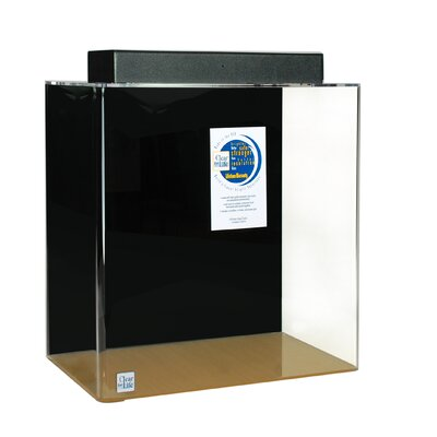"Mulligan Rectangle Acrylic Aquarium Tank Color: Black, Size: 30"" H x 96"" W x 24"" D"