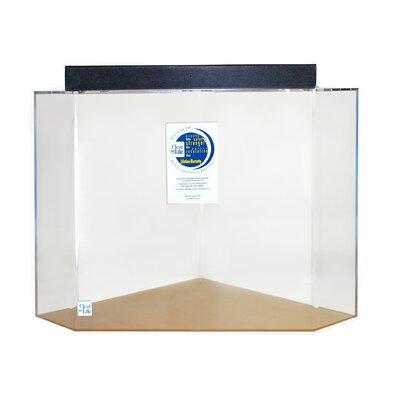 "Mullin Pentagon Acrylic Aquarium Tank Color: Clear, Size: 24"" H x 36"" W x 36"" D"