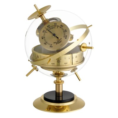 Blooming Weather Sputnik Ornament Weather Station
