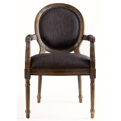 Julian Joseph Chloe Solid Wood Upholstered Dining Chair