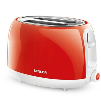 2 Slice Electric Toaster Color: Solid Red