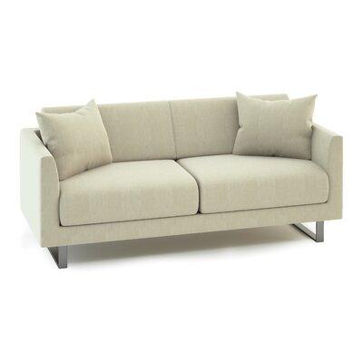 Fizz Mellini Urban Patio Sofa Fabric Color: Spectrum Kiwi