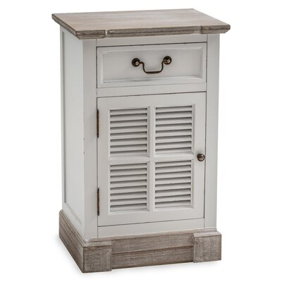 Maine Furniture Co. New England 1 Drawer Bedside Table