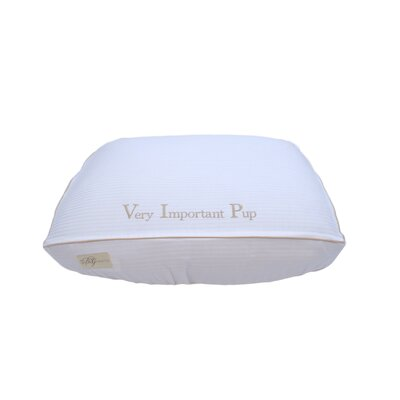 """""""Very Important Pup"""" Cotton Fitted Bed Cover Size: Small (7"""" H x 18"""" W x 24"""" L)"""