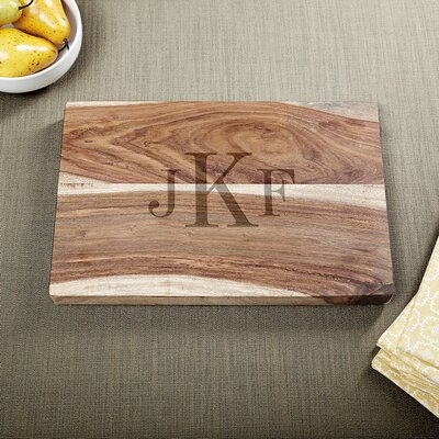 Exotic Hardwood Classic Personalized Cutting Board