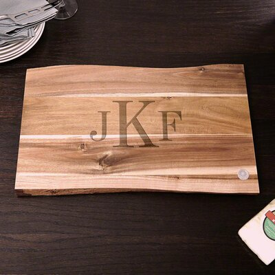 In the Raw Classic Personalized Cutting Board