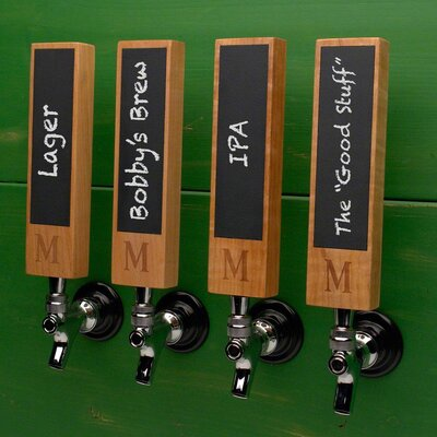 Whats on Tap Custom Chalkboard Tap Handle Monogram: G