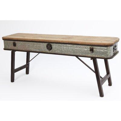 Metal/Wood Bench